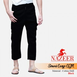 Celana Sirwal Cargo Nazeer CGN Black