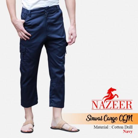 Celana Sirwal Cargo Nazeer CGN Navy
