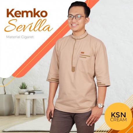 Kemeja Koko Sevilla KSN Cream