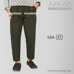 Celana Sirwal Pria Afkar SBA 87