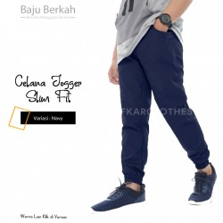 Celana Jogger Slim Fit JPS - Navy
