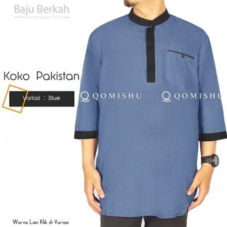 Koko Pakistan Pria Qomishu QAC - Blue