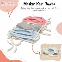 Masker Kain Rawda - 6pcs