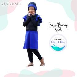 Baju Renang Anak Rocella Karina - Elektrik Blue