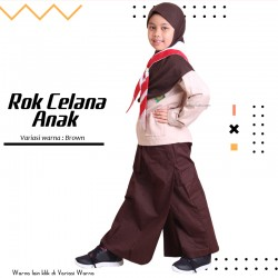 Rok Celana Anak Maryam - Brown