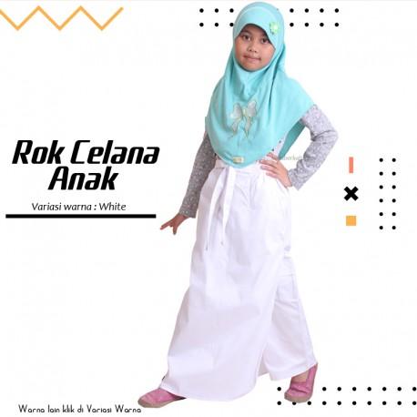 Rok Celana Anak Maryam - White