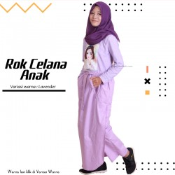 Rok Celana Anak Maryam - Lavender