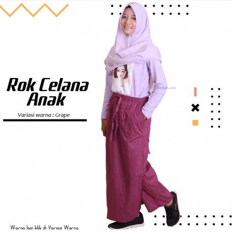 Rok Celana Anak Maryam - Grape