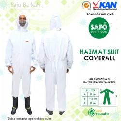 Hazmat Suit Coverall Safo