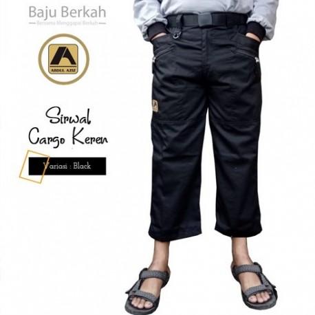 Sirwal Carren (Cargo Keren) - Black