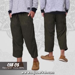 Celana Sirwal Kaos CSB 03