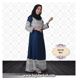 Daily Dress DG 05 Biru