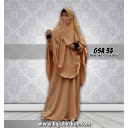 Gamis Syar'i Wanita Muslimah GSA 35